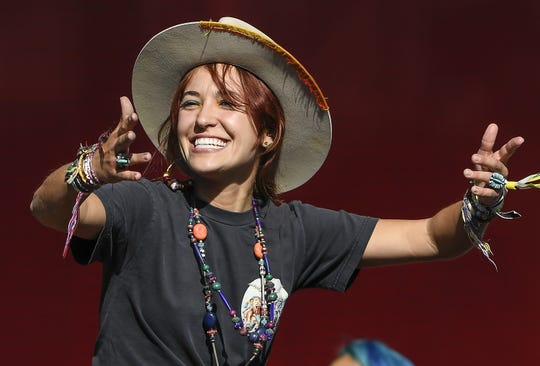 Singer Lauren Daigle performs on Day 1 during the 2019 Outside Lands Music & Arts Festival at Golden Gate Park on Aug. 9, 2019 in San Francisco, Calif.