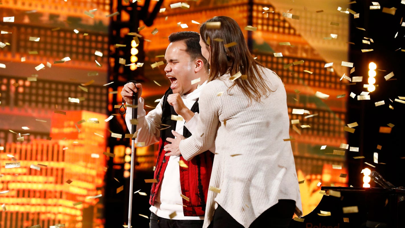 'AGT': Kodi Lee moves judges to tears in 'Bridge Over Troubled Water' with Paul Simon's OK