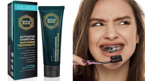 The first step to a whiter smile may be brushing with charcoal.