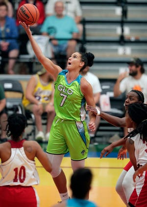 Taylor Wurtz is the leading scorer for the Wisconsin Glo, which plays two games at home this weekend against the St. Louis Surge.
