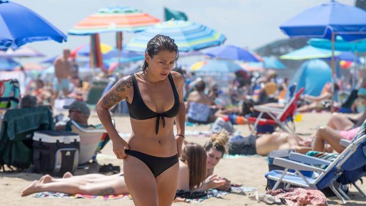 NJ Beaches: Asbury Park, Day at the Beach