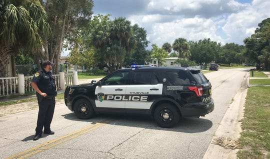 Titusville Police are investigating a deadly drive-by shooting along Deleon Avenue. FILE.