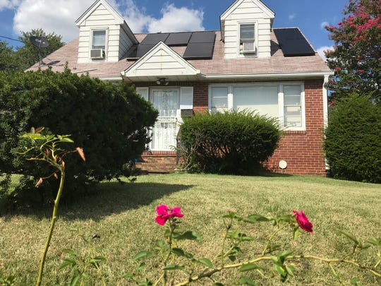 Camden County authorities say Juanita Rosario, 74, was found slain in her Pennsauken home Saturday night.