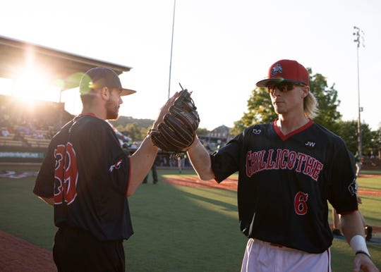 The Chillicothe Paints lost to the Cape Catfish 6-3 in game one of the Prospect League Championships at the VA Memorial Stadium on August 10, 2019.