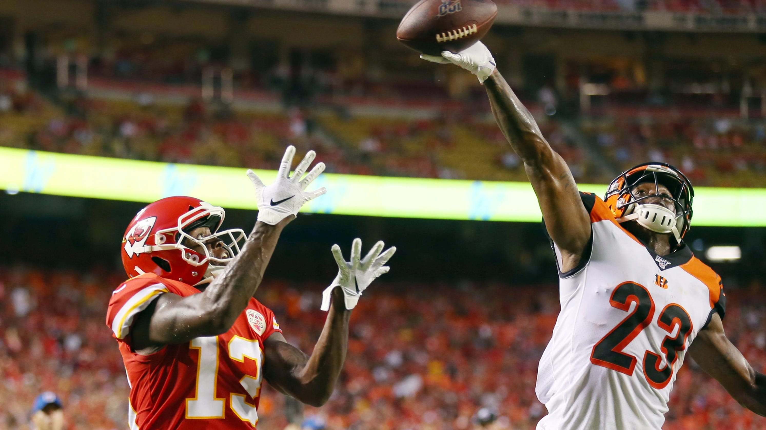7aba3933 NFL Preseason Week 1: Bengals lose 38-17 to Kansas City Chiefs
