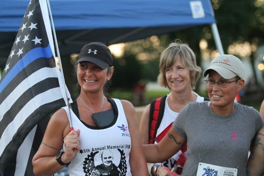 More than 240 runners and walkers participated in the sixth annual Deputy Bubba Johnson Memorial Road Race on Saturday, Aug. 10, 2019.