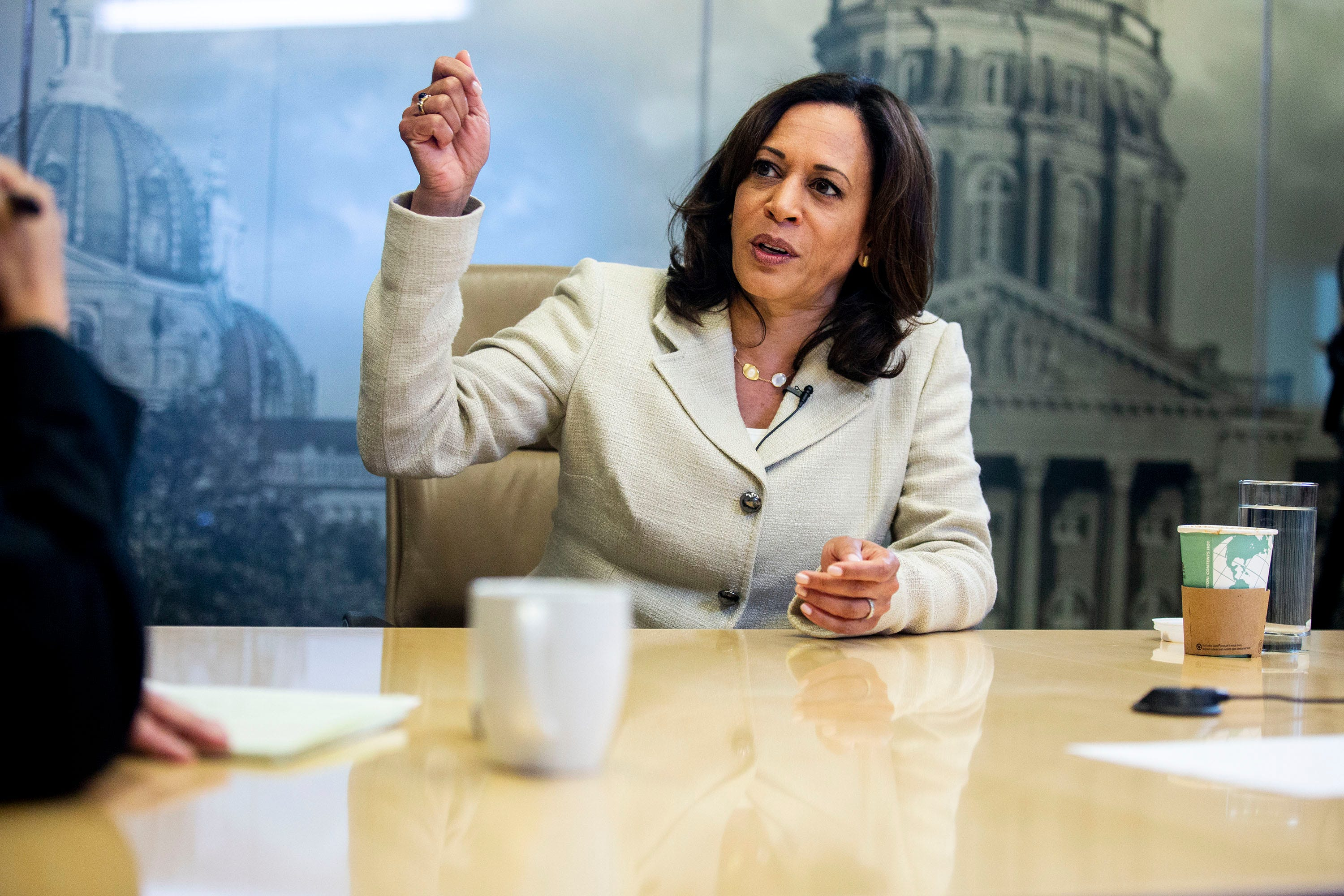 Iowa Caucus First Impressions: Sen. Kamala Harris makes good case for her presidency