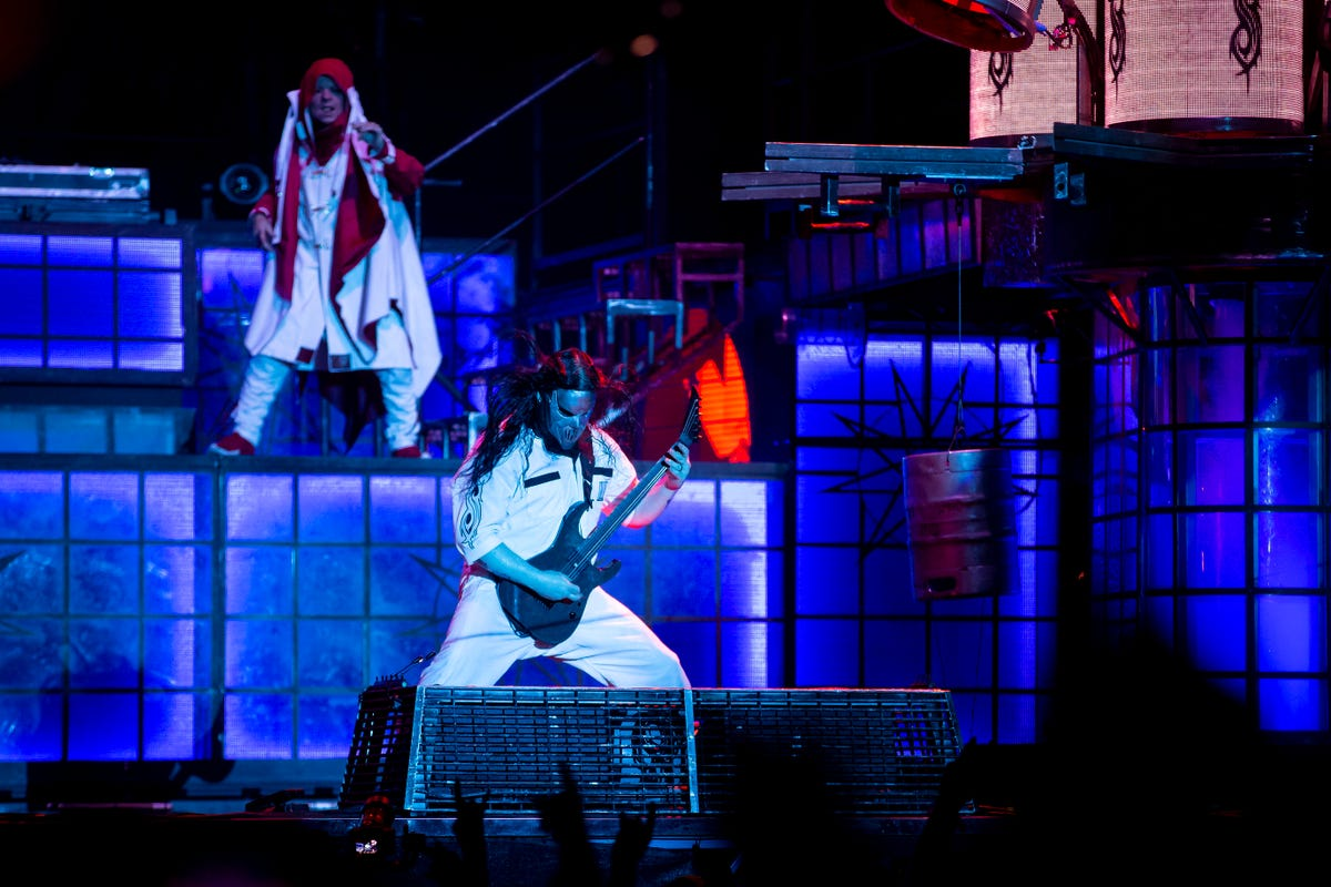 Slipknot at the Iowa State Fair: Des Moines band breaks