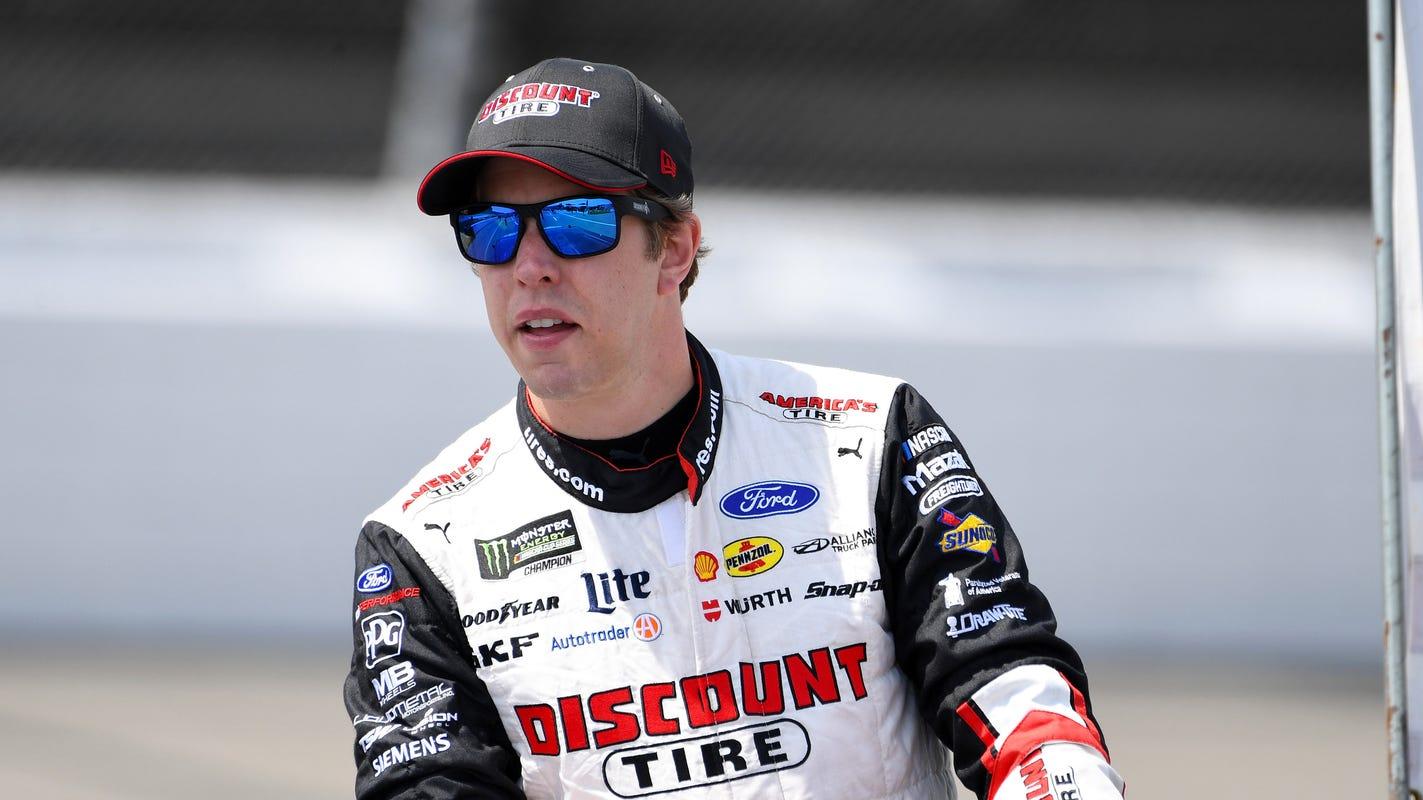 Brad Keselowski praying for elusive win at Michigan International Speedway