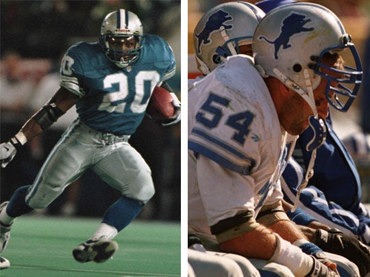 Ranking the Detroit Lions` Top 100 all-time players