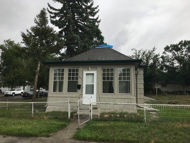 Lightning may have sparked a fire at this Great Falls home at the intersection of 7th Avenue North and 18th Street North Sunday.