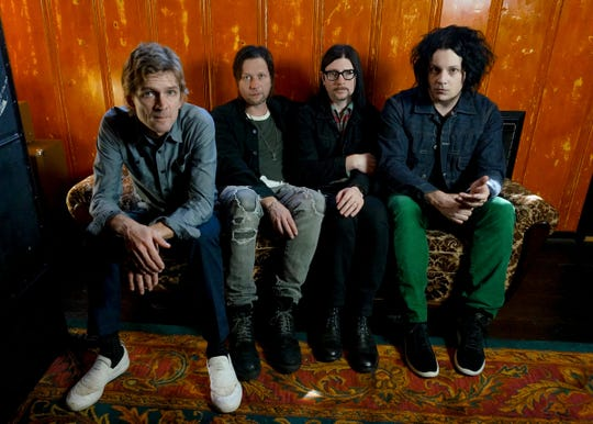 "The Raconteurs brought their ""Help Us Stranger"" tour to Indianapolis Aug. 12."