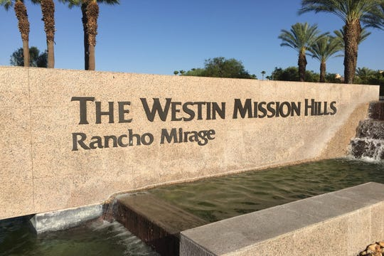 This Desert Sun file photo shows Westin Mission Hills Resort in Rancho Mirage. A man was stabbed at the site early Sunday, according to the Riverside County Sheriff's Department.