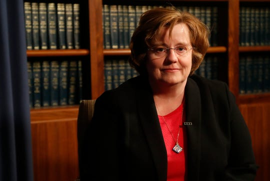 Rachel Mitchell, Maricopa County Attorney's Office chief deputy, says it's up to school policy to spell out rules on social media behavior between adults and students.