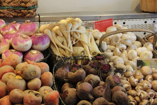E.Z. Orchards sells mushrooms.