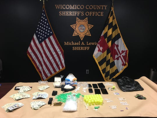 Items confiscated in a Friday, Aug. 9, search of a Salisbury home included 141 grams of heroin in 96 individual bags, 20.93 grams of crack cocaine packaged in 85 individual bags, 1.03 grams of cocaine, digital scales, $8,194 in U.S. currency, seventeen rounds of .40 caliber handgun ammunition, twelve Alprazolam Schedule 4 pills, and other items of evidentiary value.
