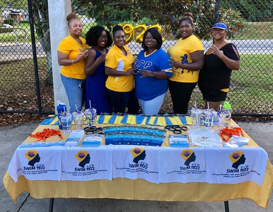 Tallahassee's Mu Mu Sigma Alumnae Chapter of Sigma Gamma Rho Sorority Inc. hosted their first Swim1922 event on Friday, Aug. 2.