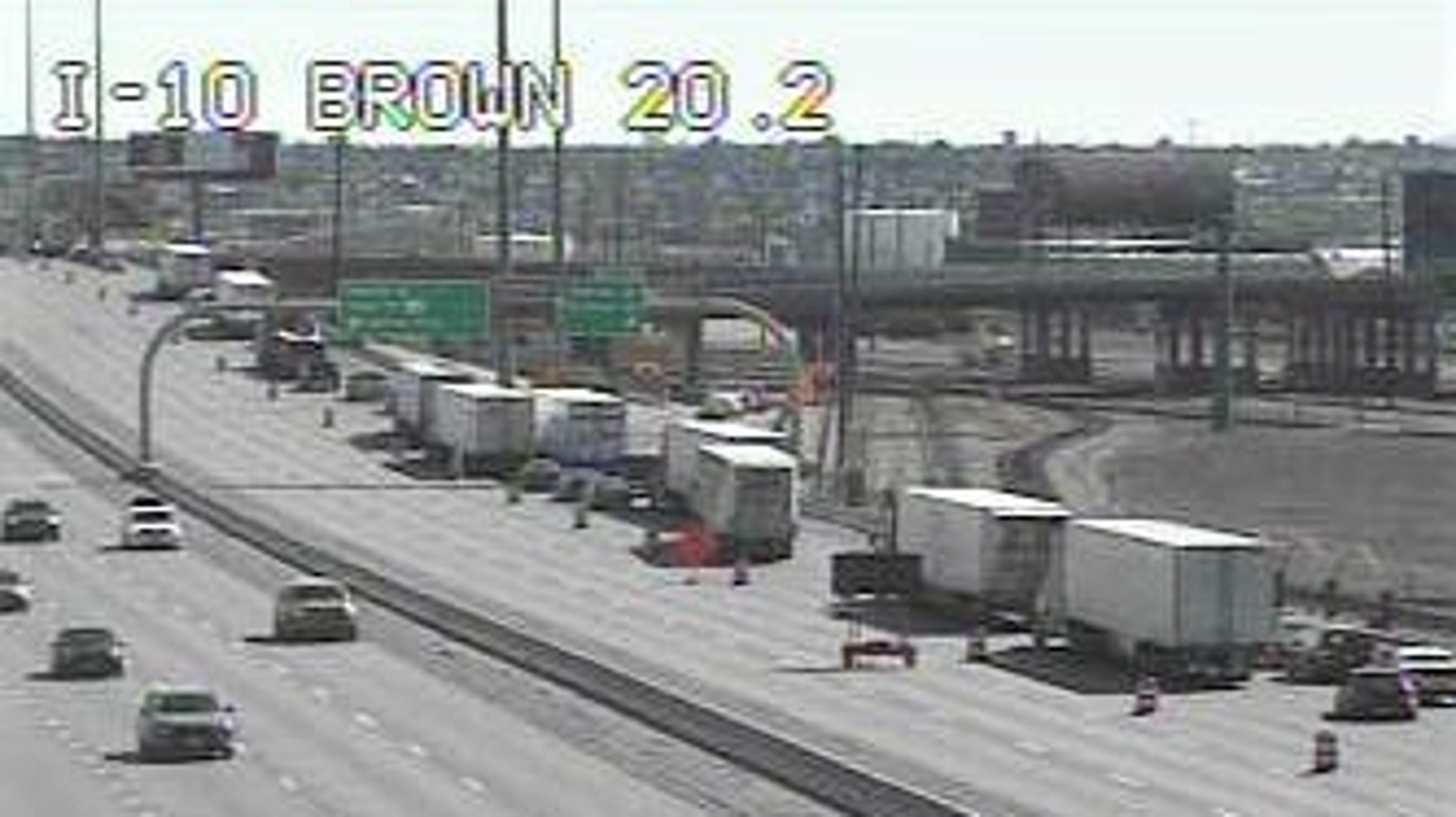 I-10 closed for construction at Spaghetti Bowl in El Paso