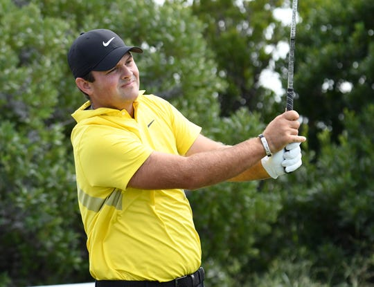 Patrick Reed is leading the Northern Trust at 14 under.