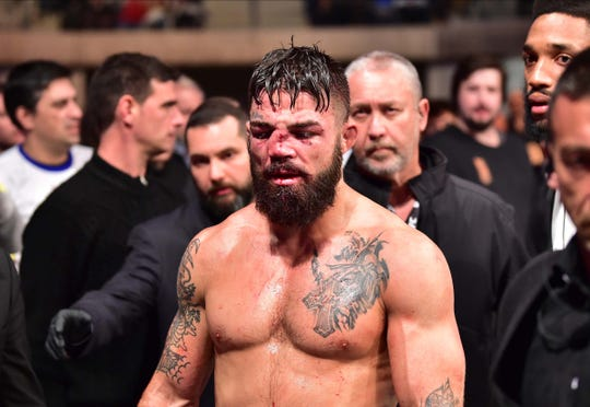 Vicente luque vs mike perry
