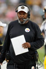Pittsburgh Steelers wide receivers coach Darryl Drake was entering his second season with the team.