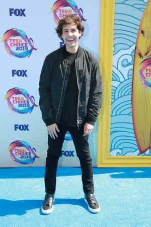 David Dobrik attends FOX's Teen Choice Awards 2019 on Aug. 11, 2019, in Hermosa Beach, California.