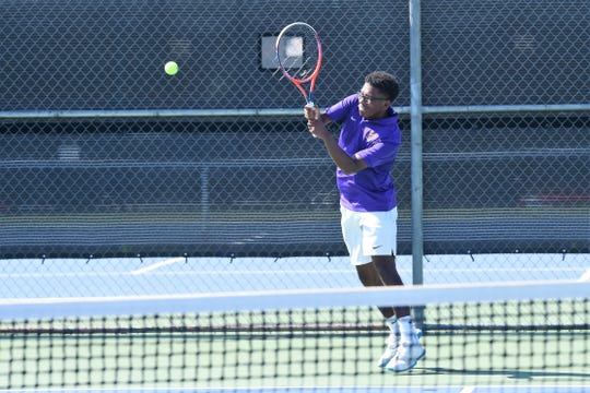 Wylie's Courtney Holmes stepped up in a pair of District 4-5A victories last week. The senior won four matches, two at No. 2 singles and two more at No. 2 doubles, dropping four points and never more than one in a set to earn Abilene Reporter-News Local Player of the Week honors for the week ending Sept. 28.