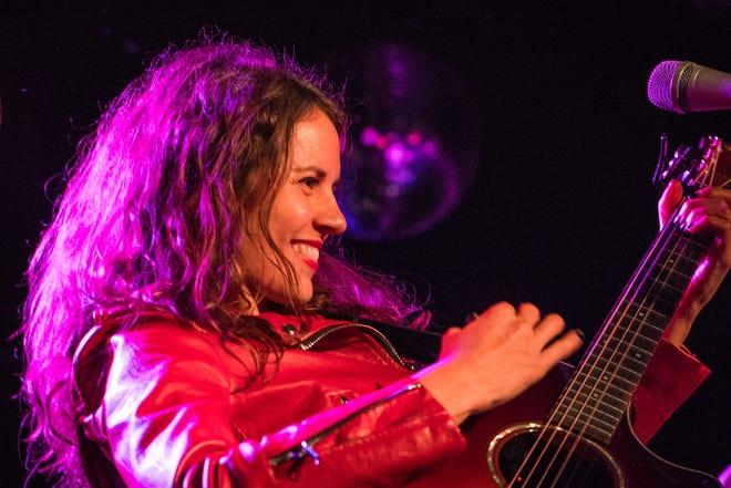 Sherri Anne Nyberg and her band Sister Speak make a stop at the Olalla Americana Music Festival.