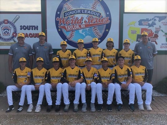 The Viera Suntree Little League team is one of 12 squads from around the world competing in Taylor. Mich., at the Junior Little League World Series.