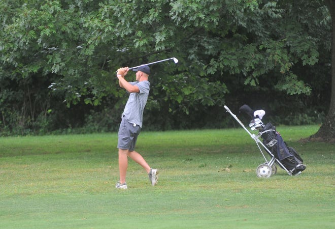 Gavin Feichtner and the Eagles are in the middle of league play this week on the links.