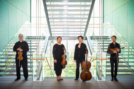 The Borromeo String Quartet performs as part of the Lake Champlain Chamber Music Festival, which takes place Aug. 17-25.