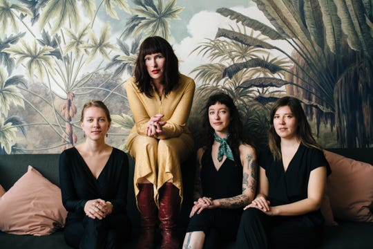 Her Crooked Heart, featuring Rachel Ries, plays Aug. 16 at the Light Club Lamp Shop in Burlington.