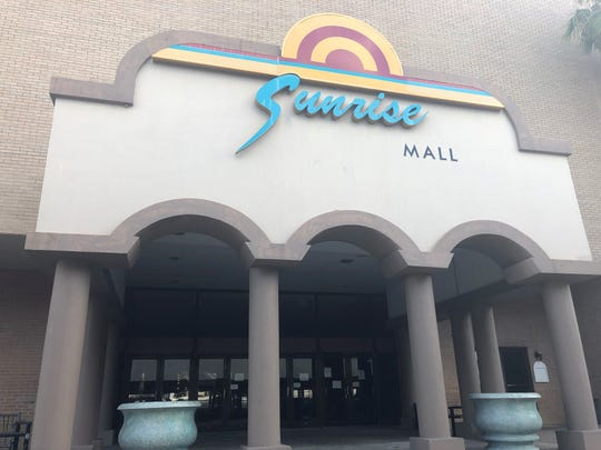 The interior of Sunrise Mall has closed. The mall is located at the intersection of Airline Road and South Padre Island Drive.