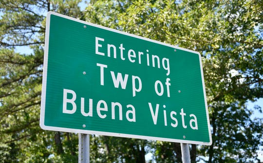 Buena Vista Township sign.