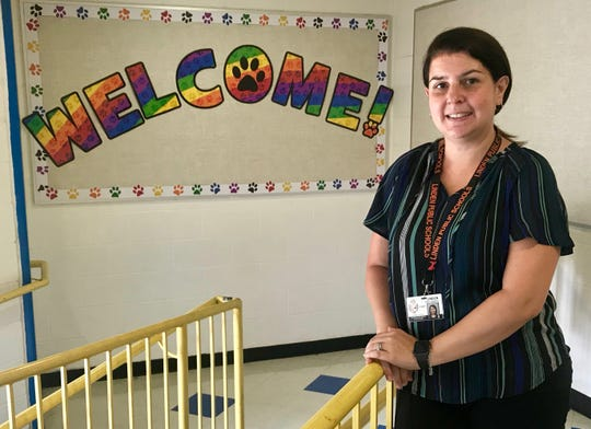 School No. 4's new vice principal, Rosalia Kolibas, had been the Linden Public Schools supervisor of elementary math for the past two years and had previously been a vice principal elsewhere in the district.