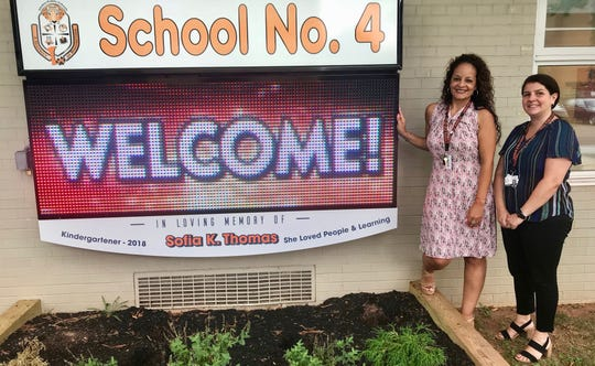 Principal Suzanne Olivero, left, and Vice Principal Rosalia Kolibas aim to build on the progress of the past as they begin their first year at the helm of Linden's School No. 4, home to about 400 students in Pre-K through fifth-grade.