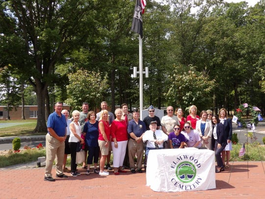 On Saturday, Aug. 3, representatives from North Brunswick Township attended the press conference announcing Elmwood Cemetery in North Brunswick as an official Wreaths Across America cemetery location for the second year in a row.