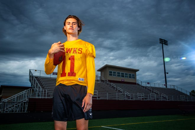 Ankeny wide receiver Brody Brecht (6-4, 200) will attend the University of Iowa.