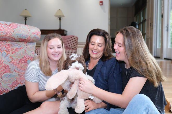 Gov Gretchen Whitmer Adopts 14 Week Old Labradoodle Named Kevin