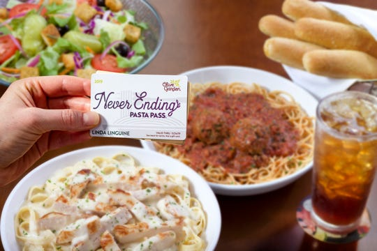 Olive Garden's Never Ending Pasta Pass is back, but you'll have to act fast to get one.