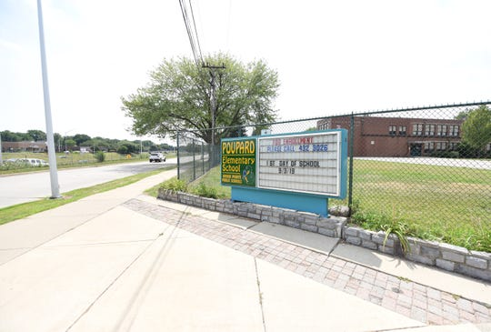 Poupard Elementary, which is a school that serves a predominately black student population, is 500 feet from I-94 and is the district's only Title 1 school.