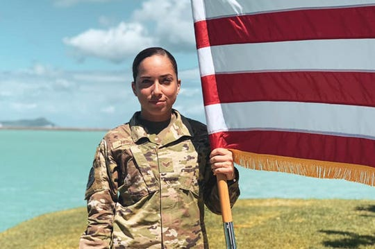 Sometimes the best way to deal with bias against Hispanics is just to stand up to it, said Air Force Senior Airman Xiara Mercado.