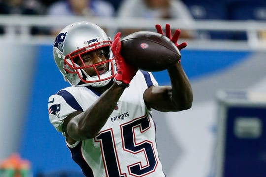 The Lions could keep an eye on Patriots wide receiver Dontrelle Inman after losing Jermaine Kearse to a leg injury in the preseason opener.