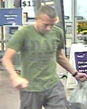 Shelby Township police are looking for a man who allegedly stole $2,900 in jewelry from a Walmart.
