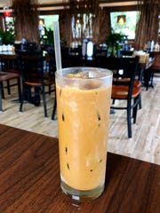 A Vietnamese iced coffee ($4.50) from Viet Village in south Fort Myers.