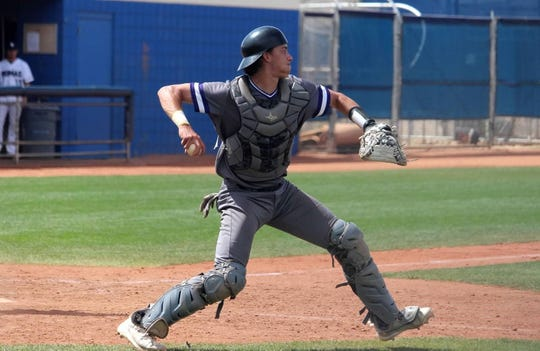 Former Green Bay East catcher Trent Bauer now plays at NCAA Division I Western Illinois.