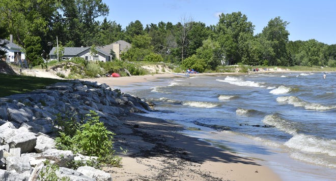 A section of shoreline in Jacksonport, which celebrated its 150th anniversary this year. Tina M. Gohr/USA TODAY NETWORK-Wisconsin