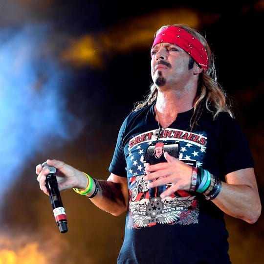 Bret Michaels will perform Sept. 13 at the Tennessee Valley Fair.