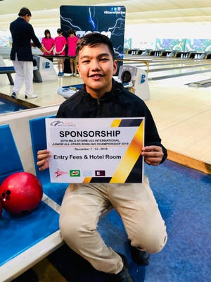 Top seed Jeremiah Camacho of Guam and 6th seed Hideaki Hata of Japan battled it out for supremacy in the U22 5th Fukuoka Summer Cup 2019 sponsored by Storm held at the Toyo Sports Palace, Fukuoka-ken, Fukuoka, Japan from August 8-11.