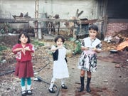 Karla Lopez-Owens (left) poses with her two sisters in Mexico during the 90s. In 1999, her mother, herself and her two sisters would cross the border into the United States illegally.